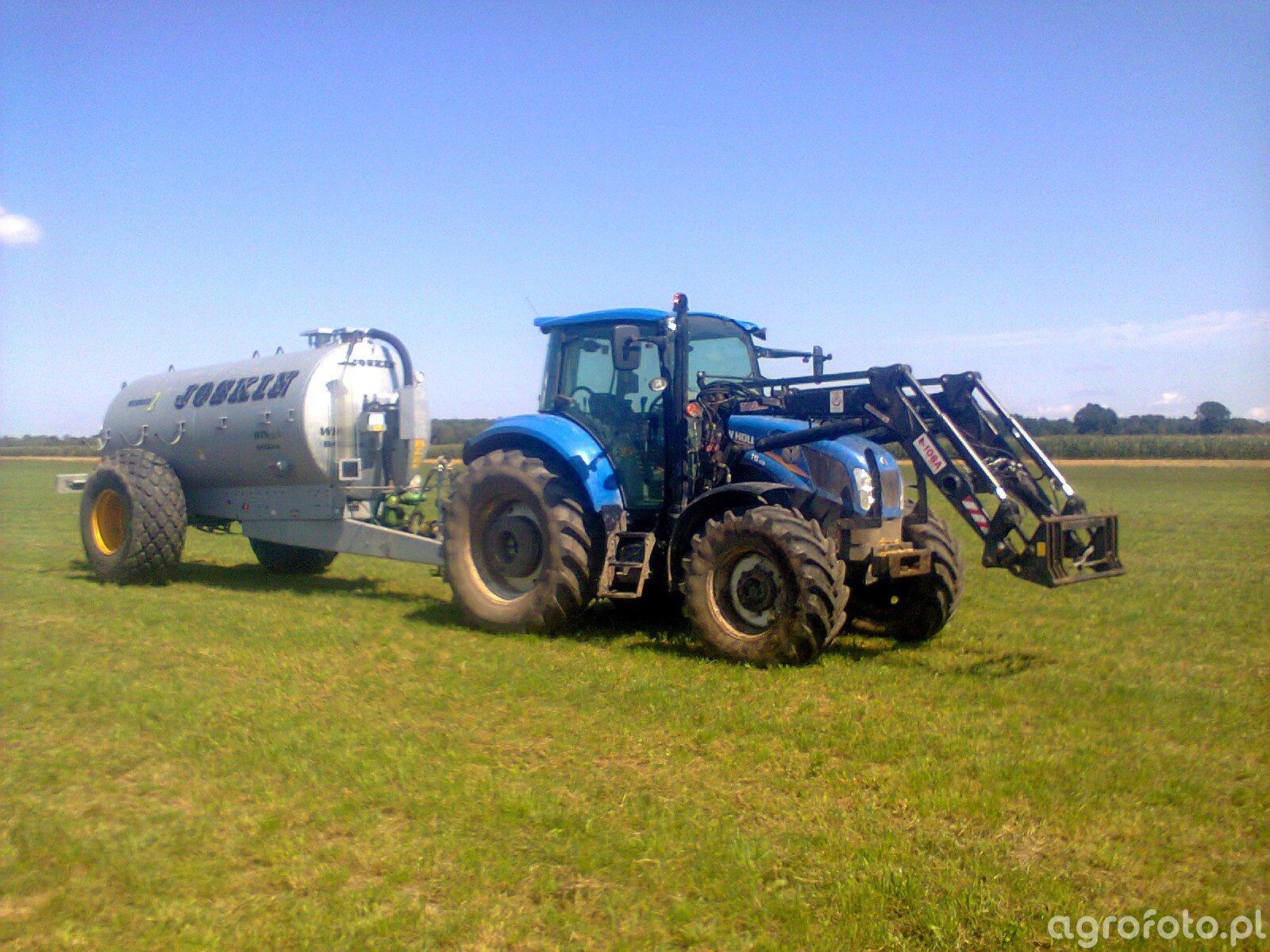 New Holland T5.105 + JOSKIN