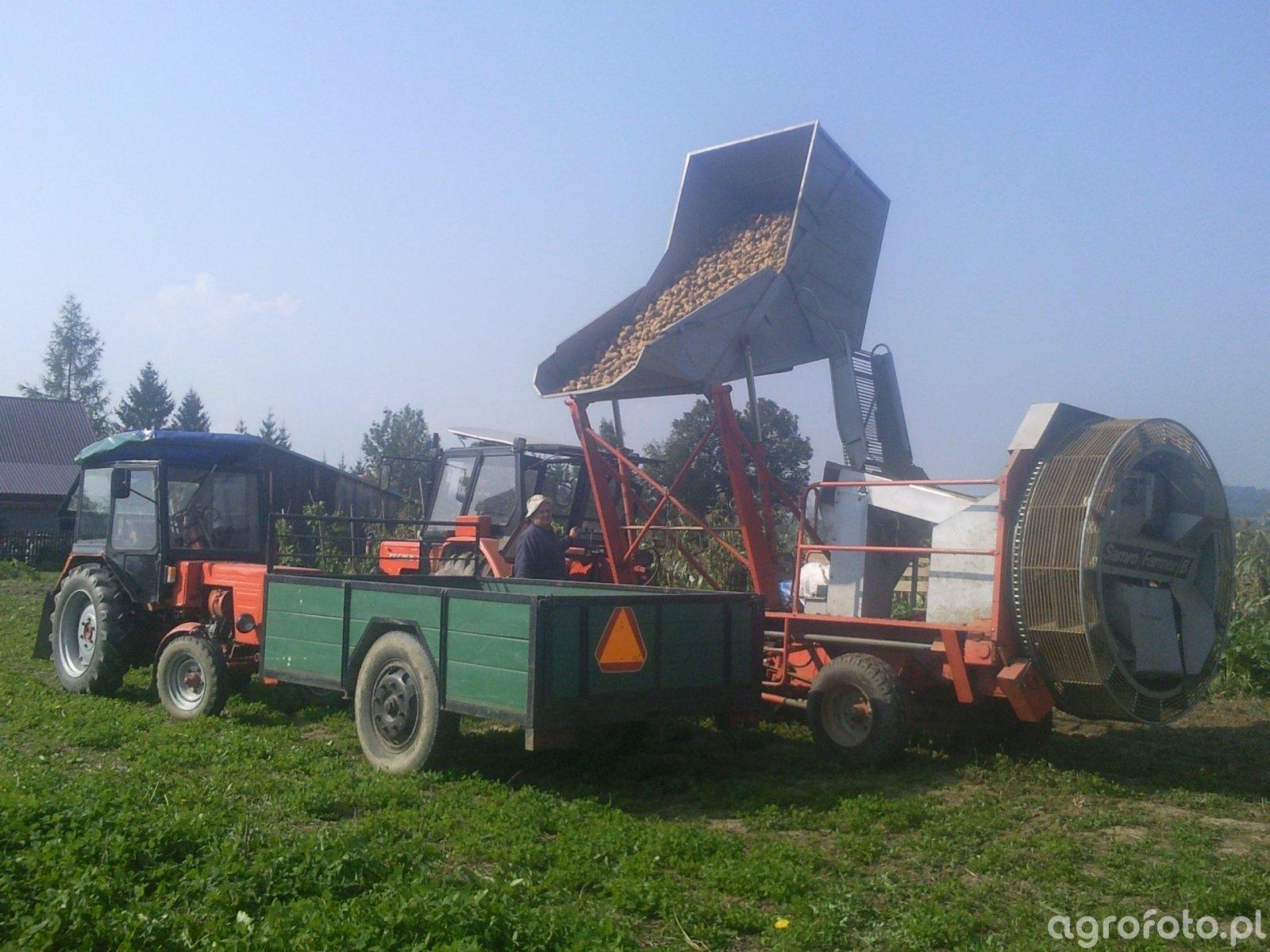 Samro farmer B & Władymirec t25 & ursusc 360