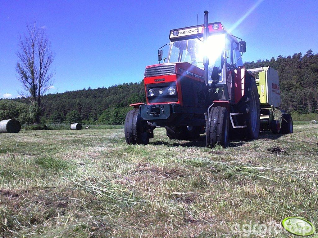 Zetor 10111 & Claas Rollant 46rc