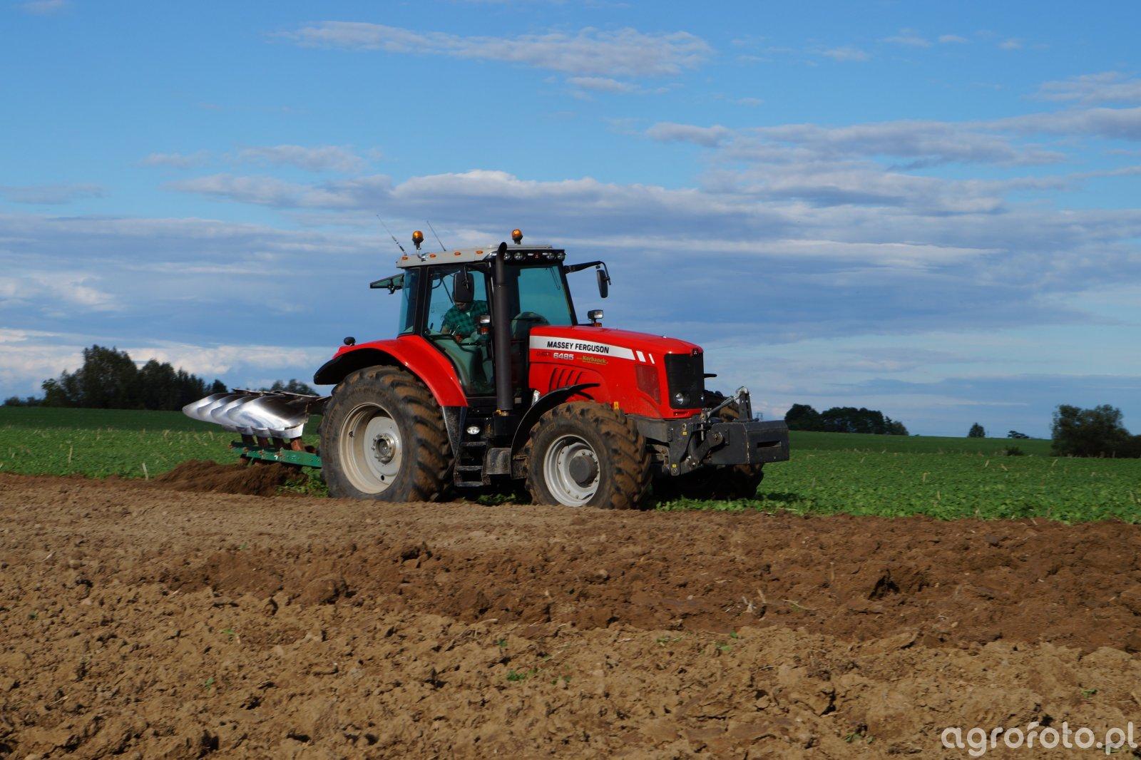 Massey Ferguson 6485 Dyna-6 & Kverneland EM100