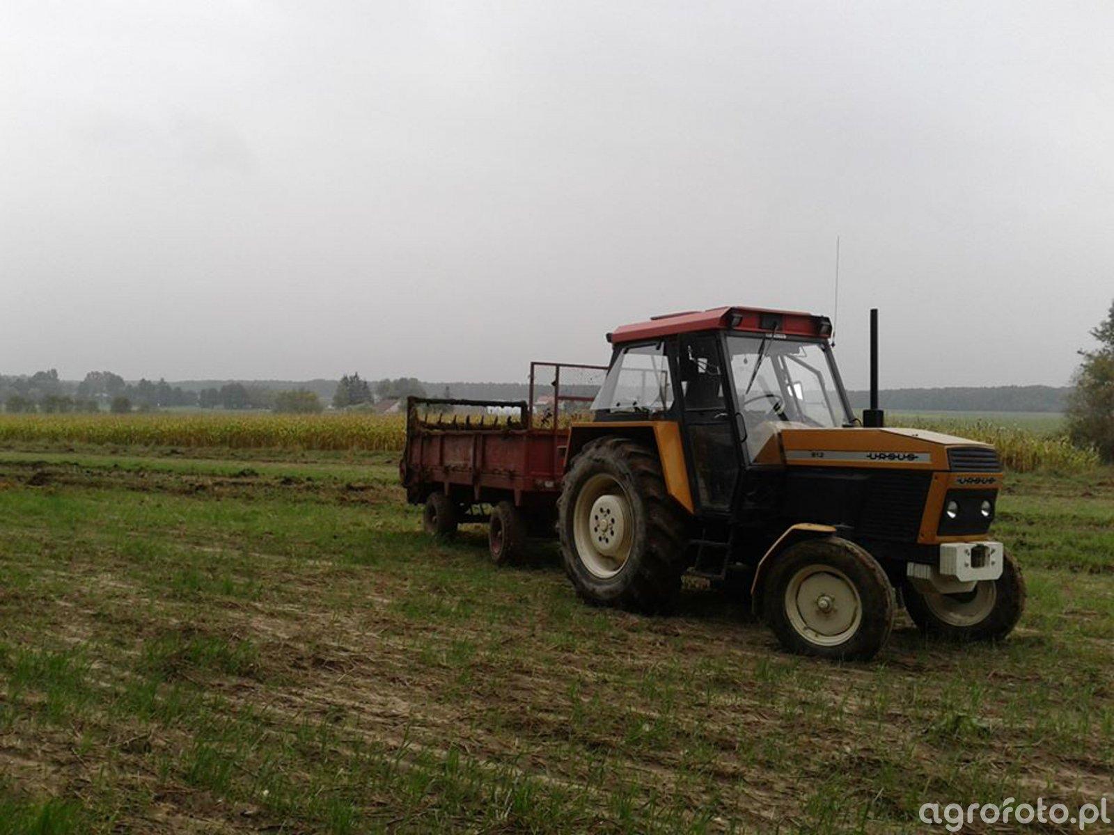 Ursus 912 + rozrzutnik