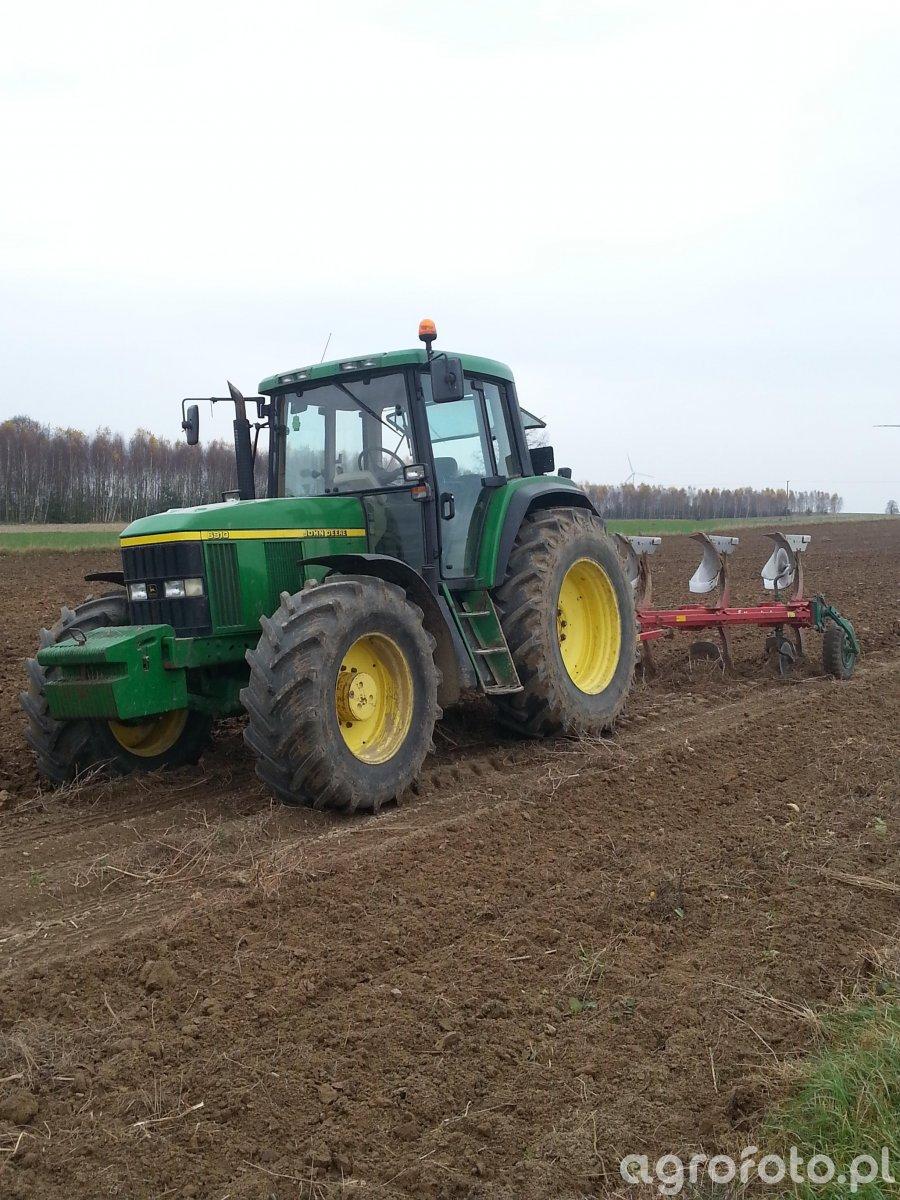 John Deere 6910+ Kverneland ES95