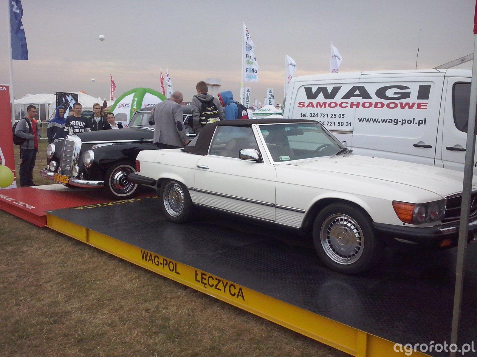 Mercedesy na stoisku Wag-Pol