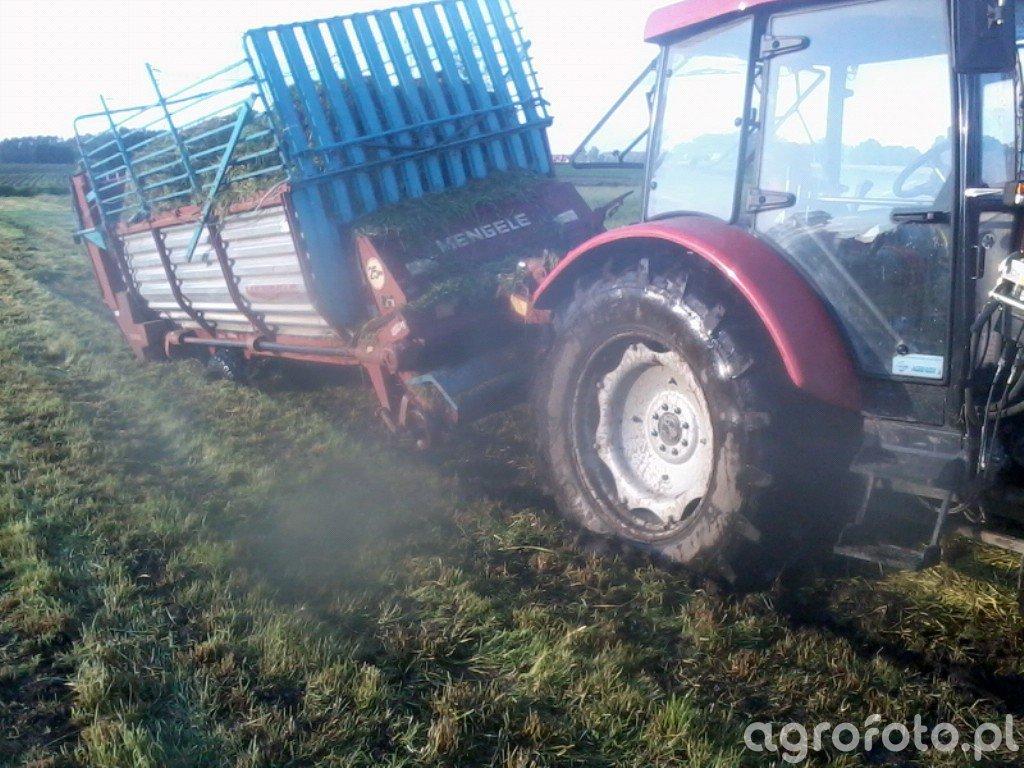 Farmer 9258 TE + Mengele LAW 350