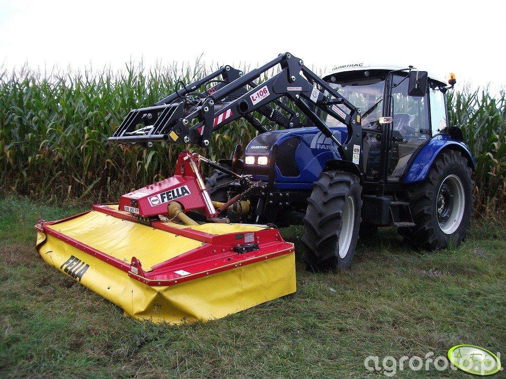 Farmtrac 690 DT +  Fella