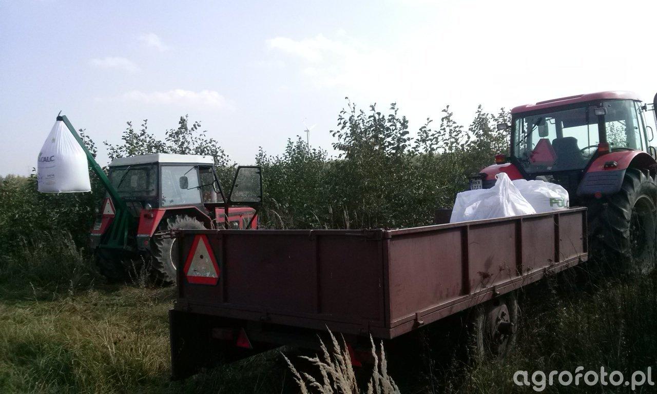Zetor forterra 11441 + Przyczepa/Zetor 7711 turbo + Ładowacz