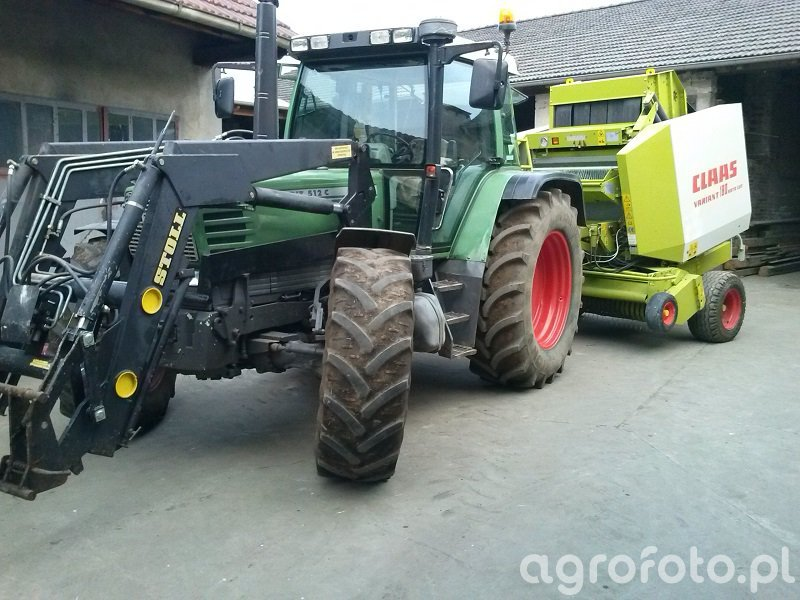 Fendt 512 Vs Claas Variant 180 RC
