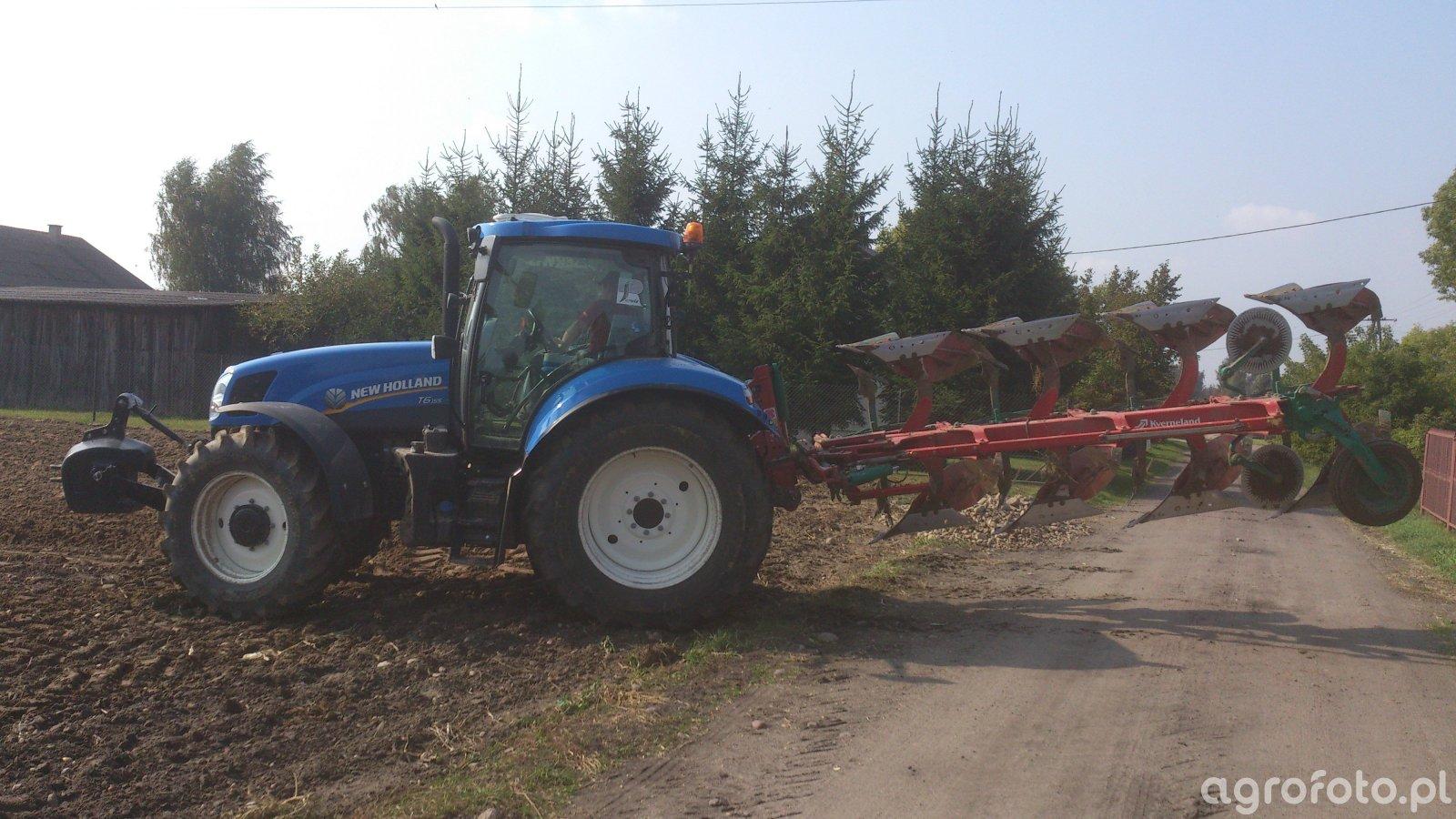Kverneland EG 100 & NH T6.155