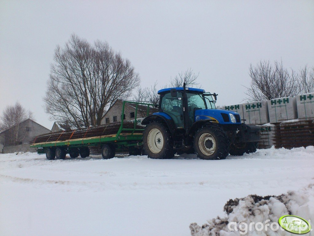 New Holland T6050 PLUS + Pronar T023