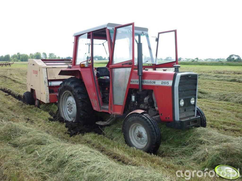 Massey Ferguson 265 + Krone 125