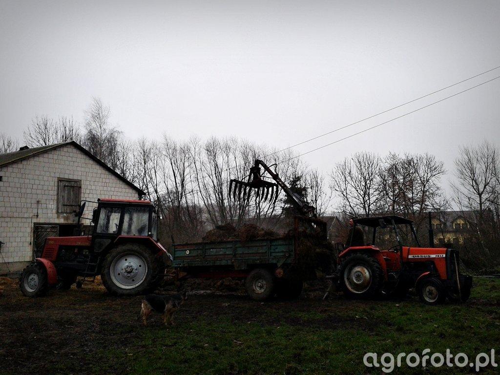 Ursus 2812 + Troll 350 & Belarus 820 + Metal-Tech N-243