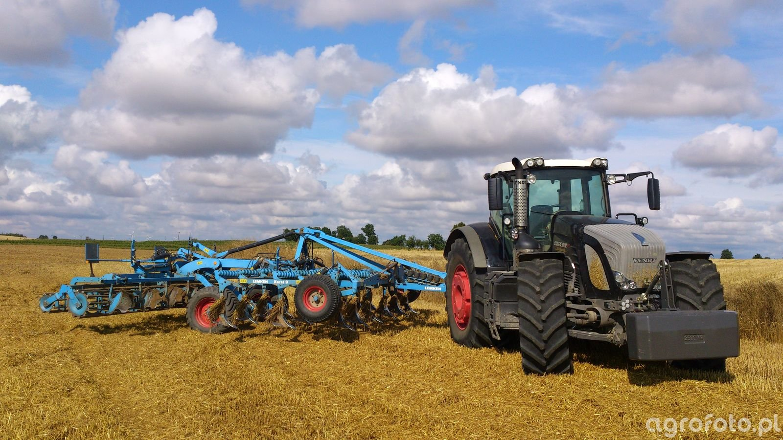 Fendt 939 Black Beauty & Lemken Karat 9