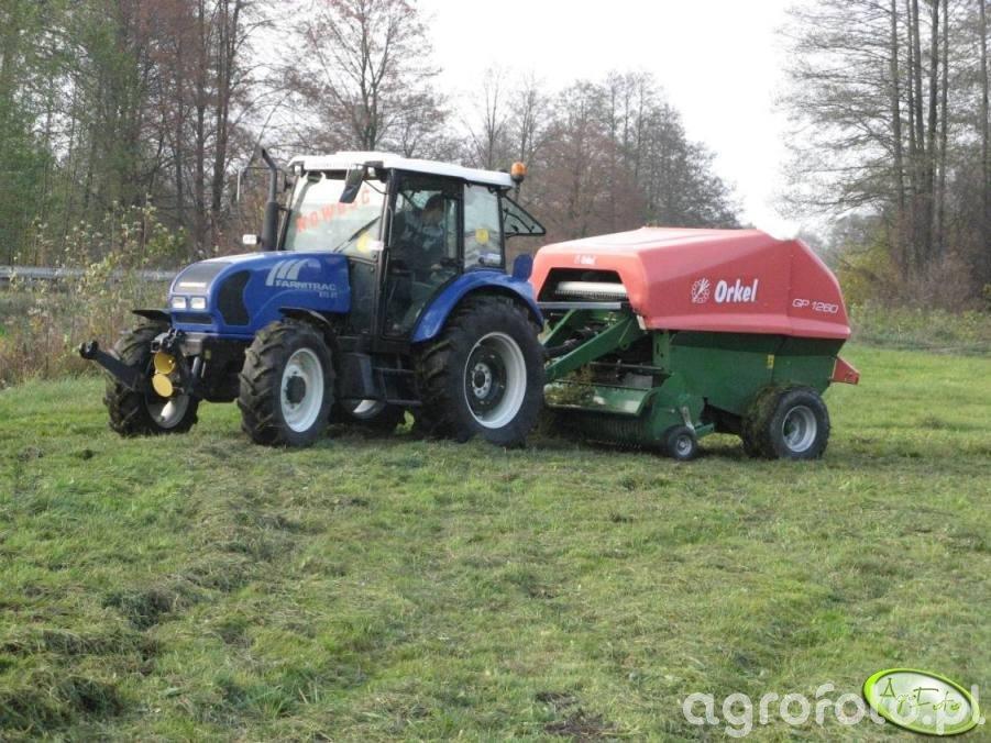 Farmtrac 80 4WD z Orkelem