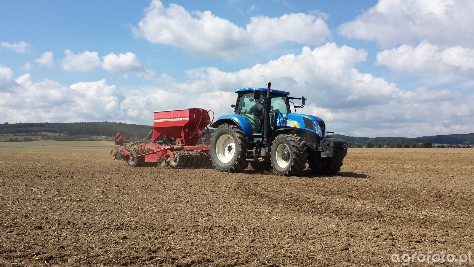 New Holland T6090 Horsch Pronto 3DC