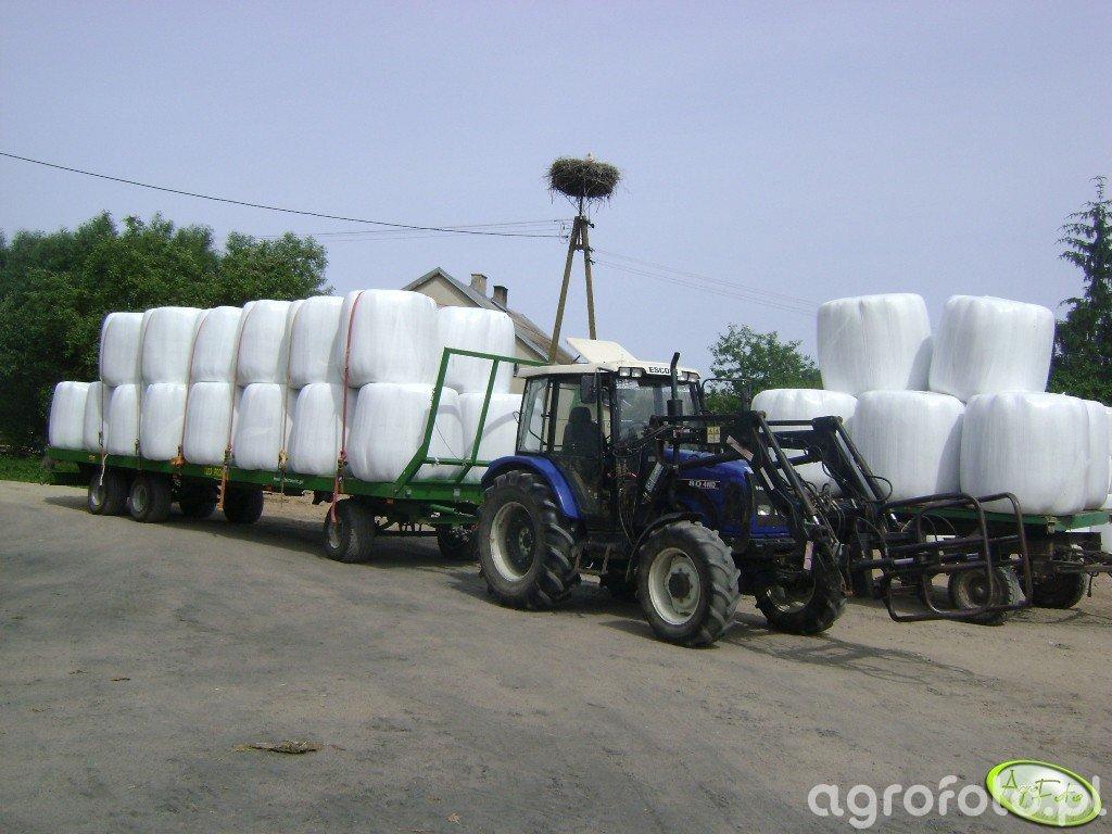 Farmtrac 80 4WD + Pronar