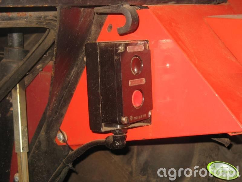 Elektro mechaniczne sterowanie TUZ-em z zewnątrz kabiny