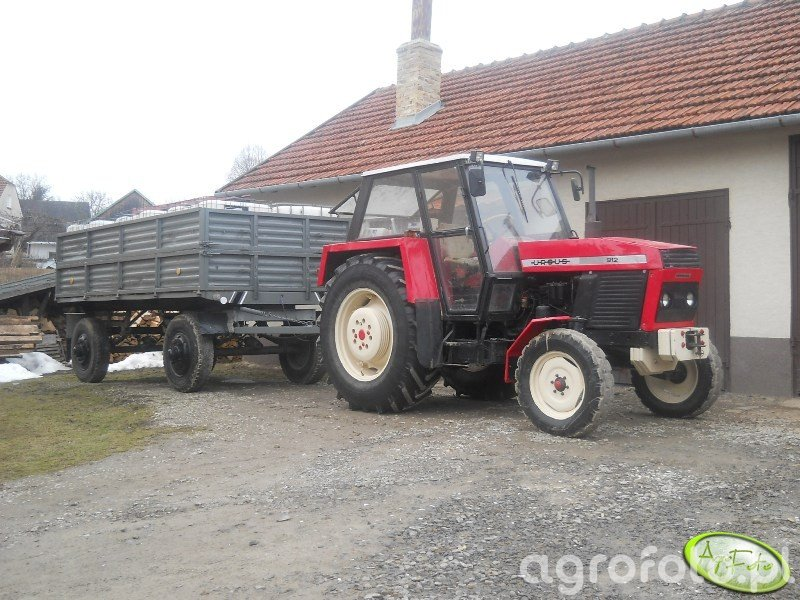 Ursus 912 + Przyczepa D50
