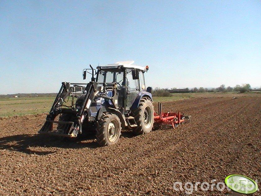 Farmtrac 675DT & AgroFactory 2,8m