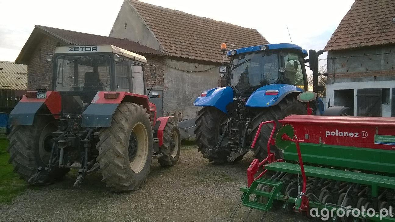 New Holland t6.175 i Zetor 8245