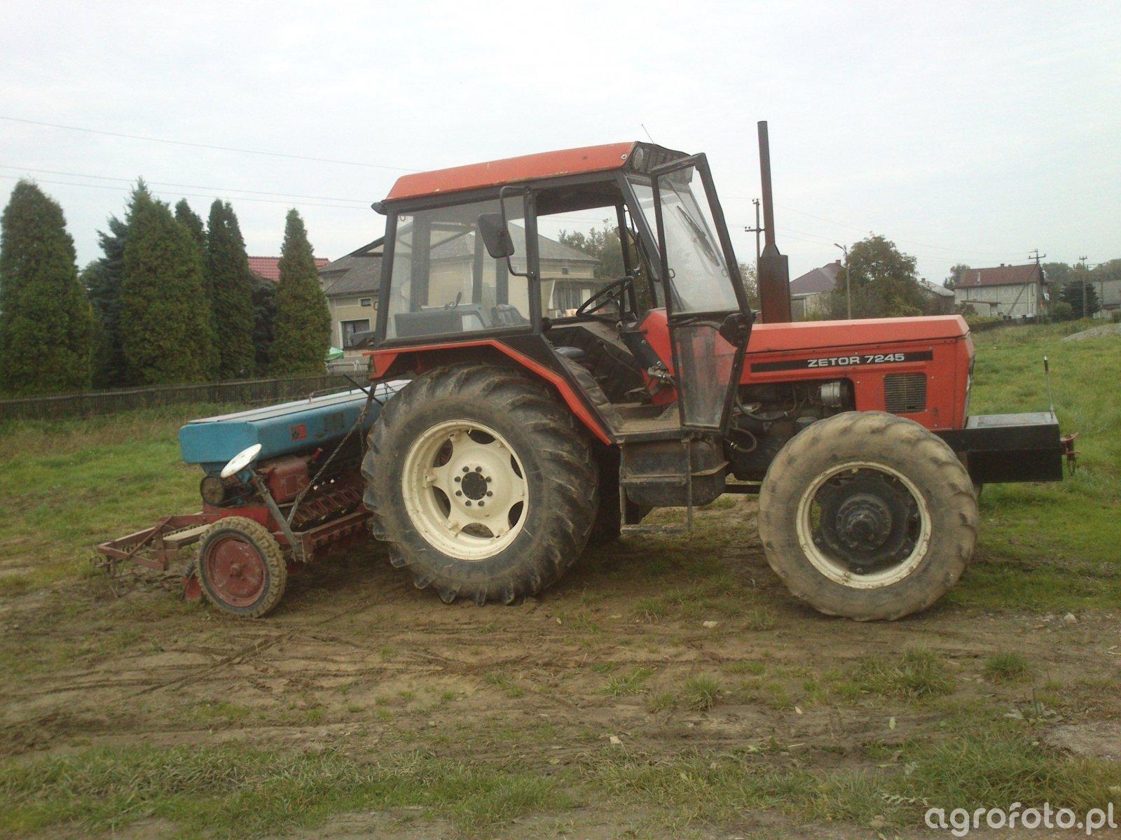 Zetor 7045 & Isaria Typ 6000