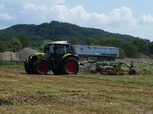 Claas Arion 630 & Liner 2600