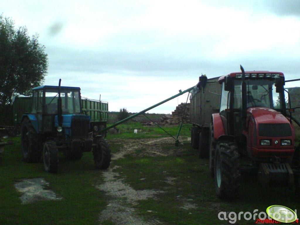 Farmer 8244 C2 + MTZ 82