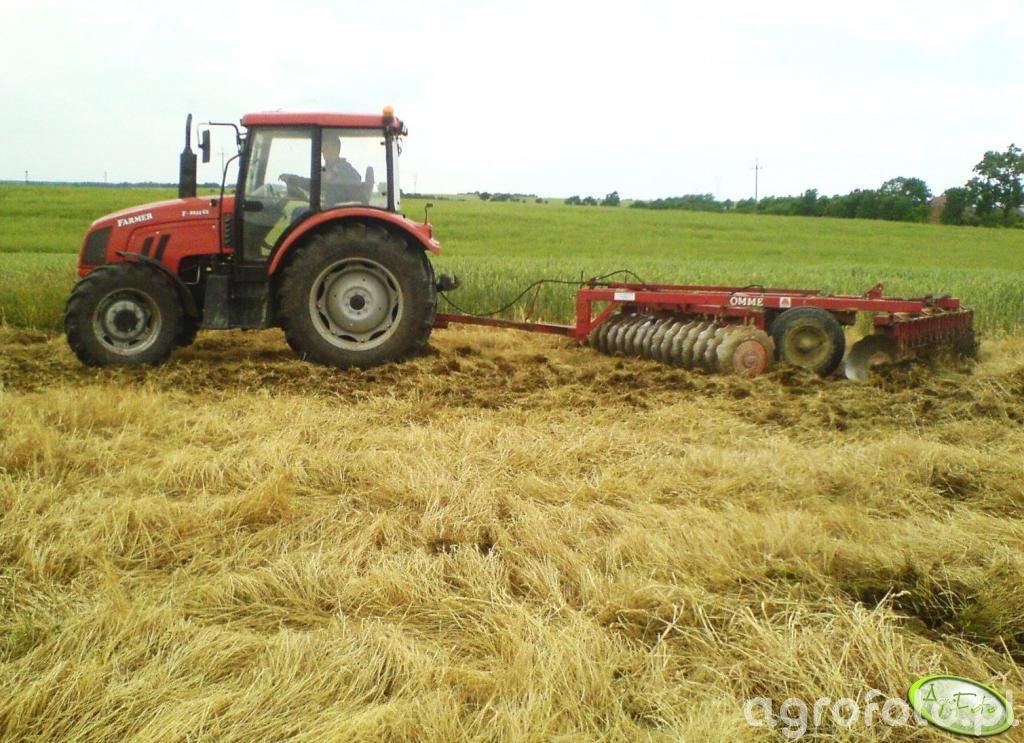 Farmer 8244 C2 + talerzówka Ome 3m