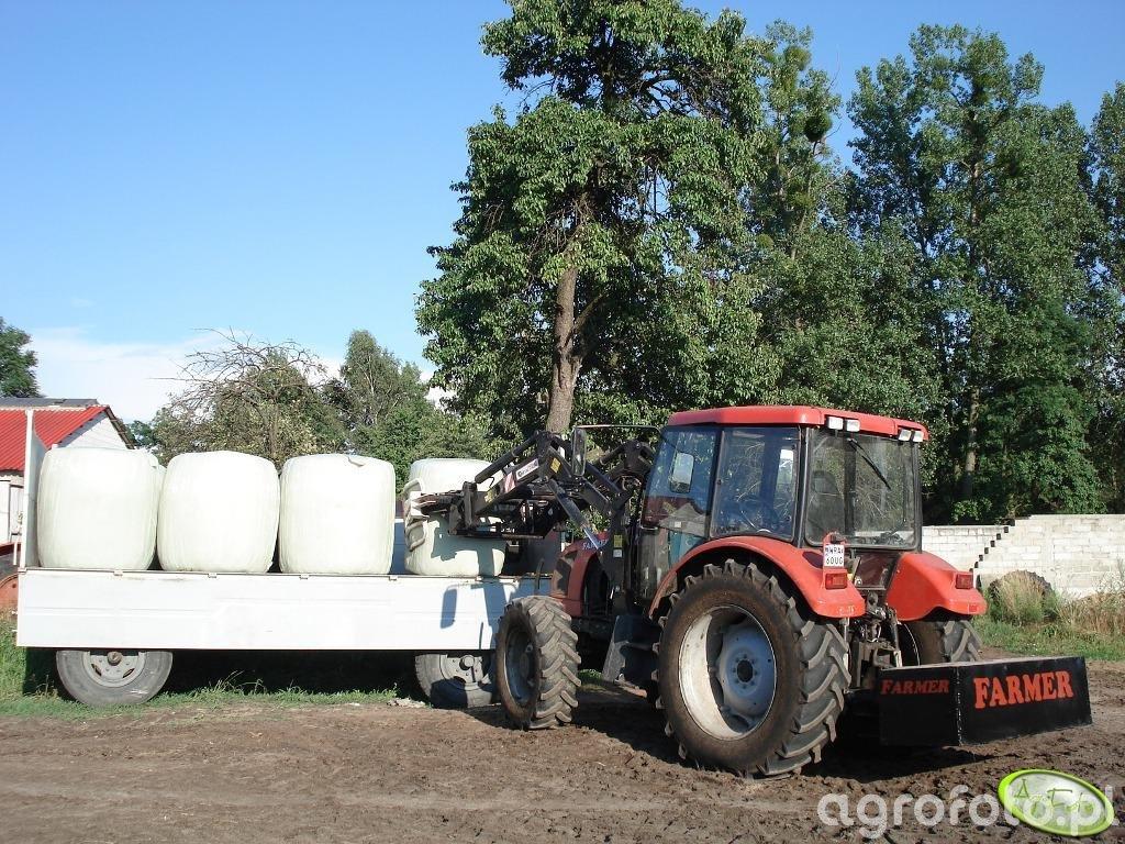 Farmer 8244 C2 z przeciwwagą