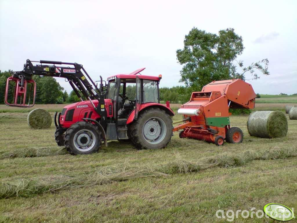 Farmer 8244 + prasa