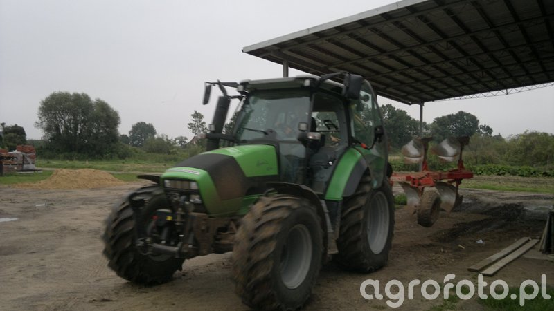 Deutz-FAhr Agrotron K 420 & Unia Ibis XXL