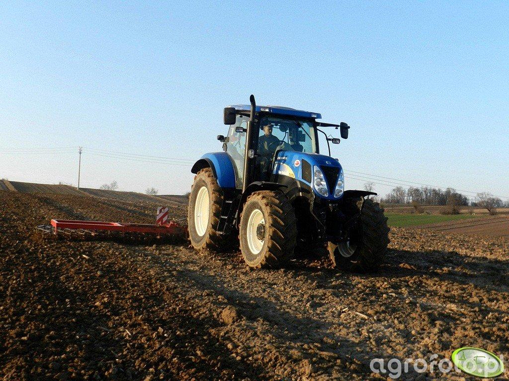 New Holland T6070 PC + Brony Agro Max