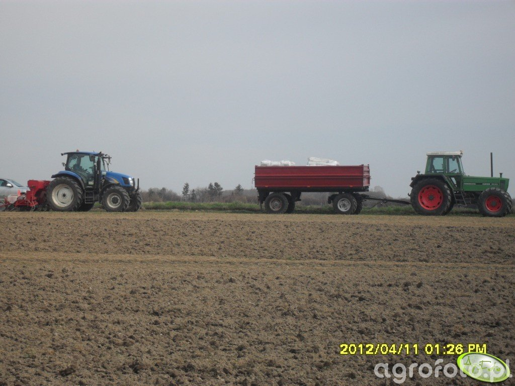Fendt Farmer 311 lsa & New Holland t6010