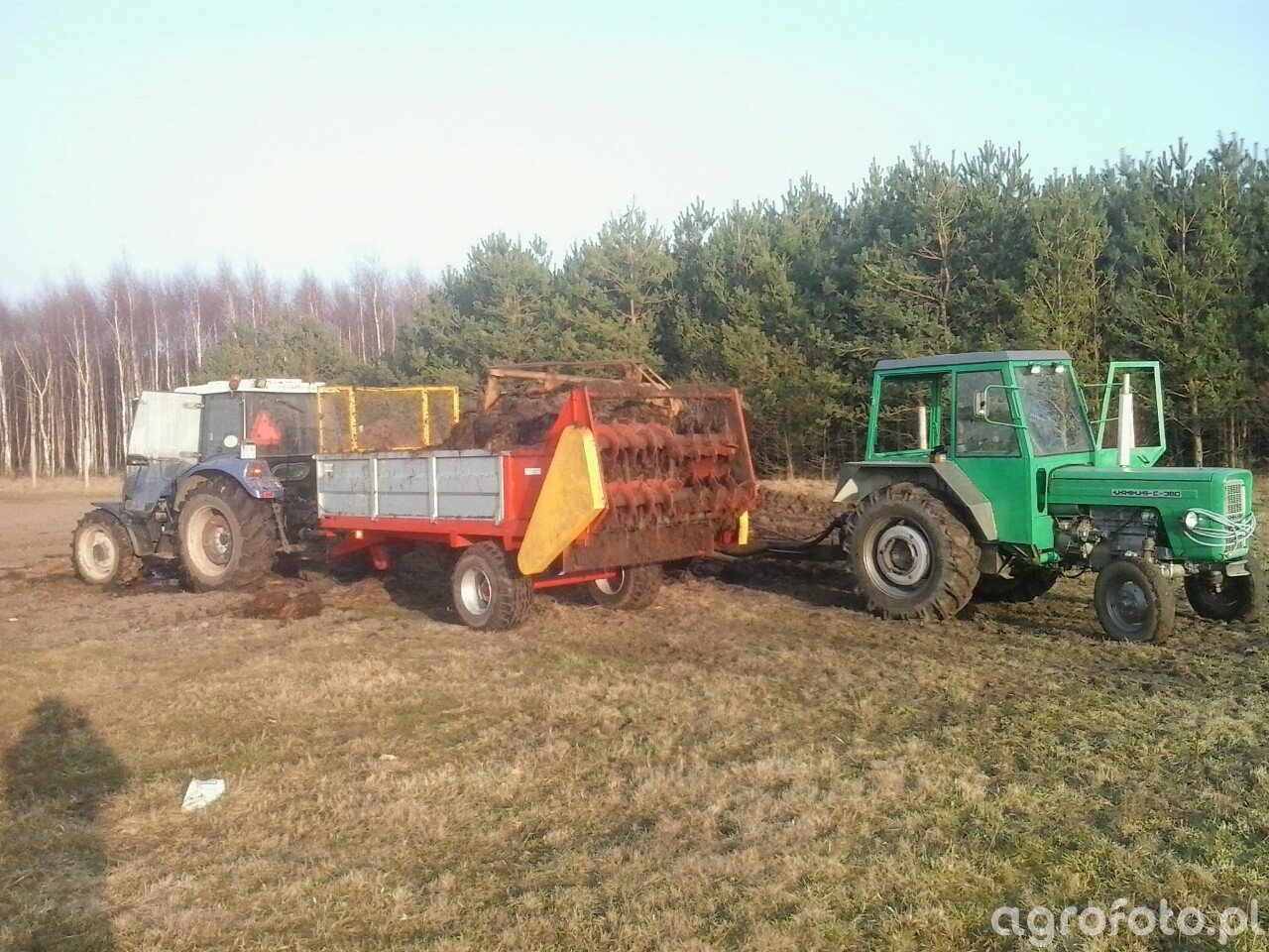 Farmtrac 80 4WD Ursus C-360