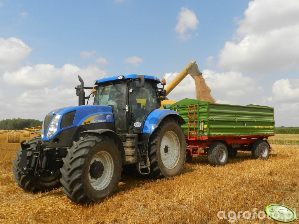 New Holland T6080PC