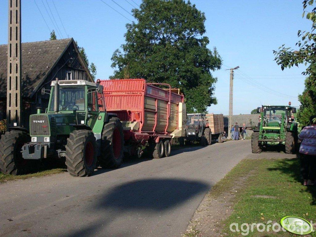 Fendt 312 Lsa & Krone TITAN 6/36 GD