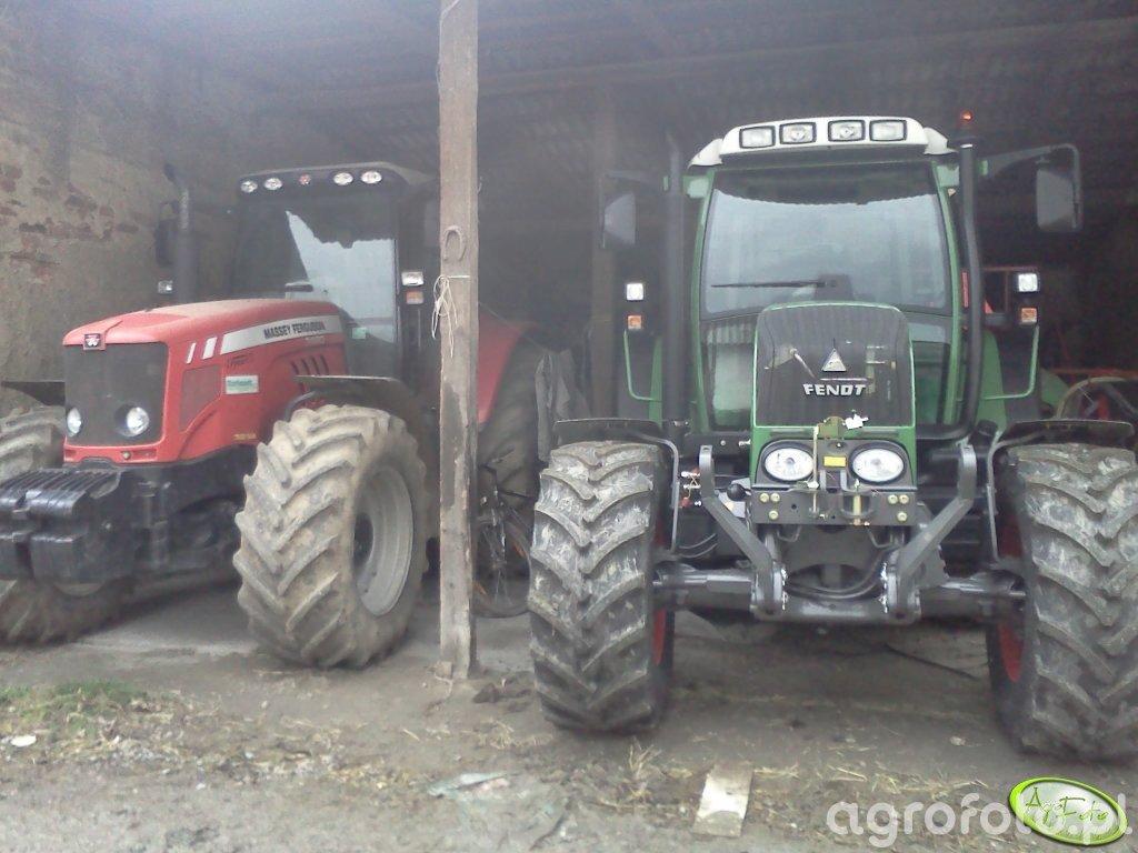 Fendt 312 & MF 7480