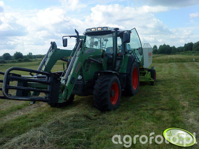 Fendt 312 TMS + Claas Rollant