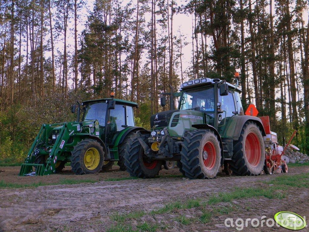 Fendt 312 vario & JD 5090M