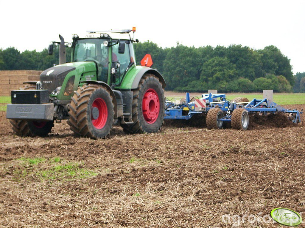 Fendt 936 Vario + Köckerling Vector