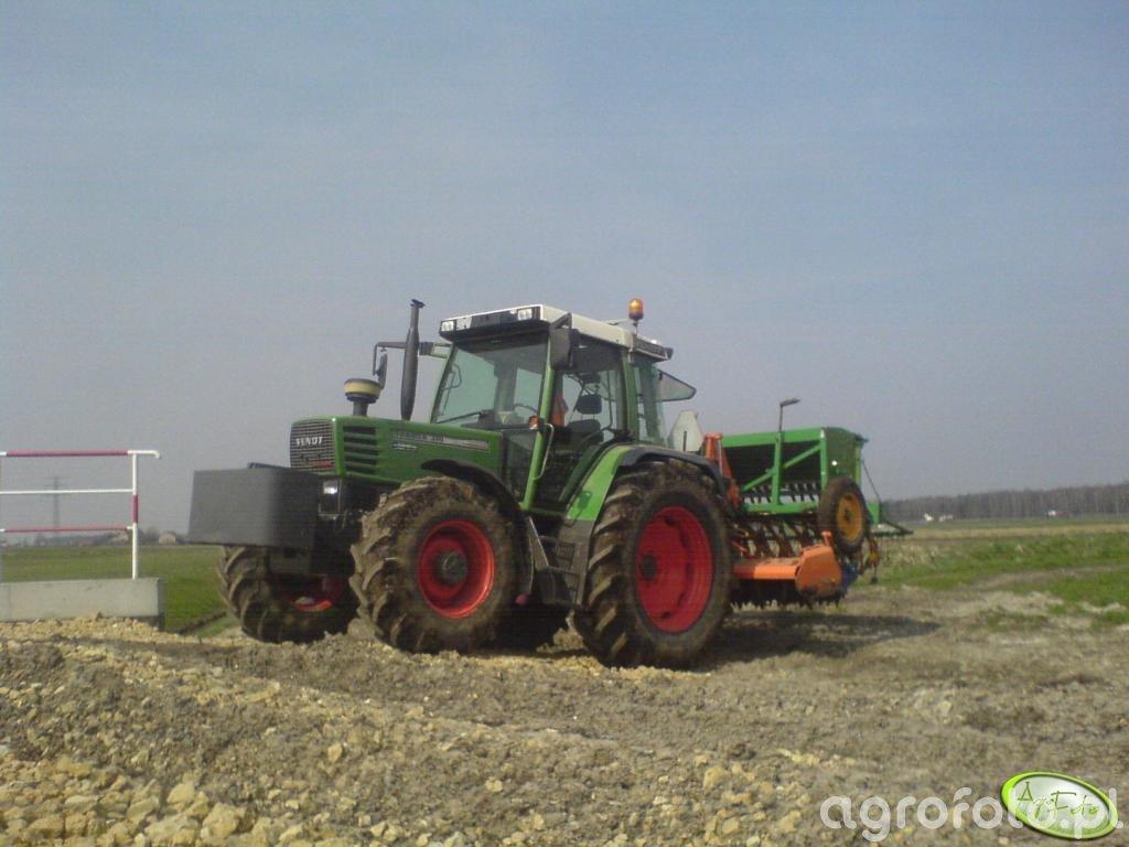 Fendt Farmer 310 + Agregat + Amazone D7