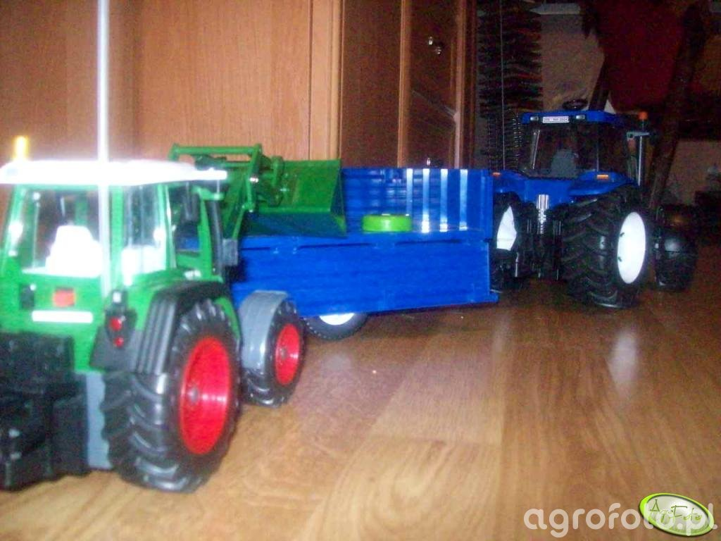 Fendt i New Holland