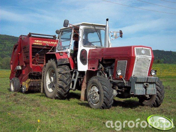 Fortschritt ZT-303 + New Holland 841
