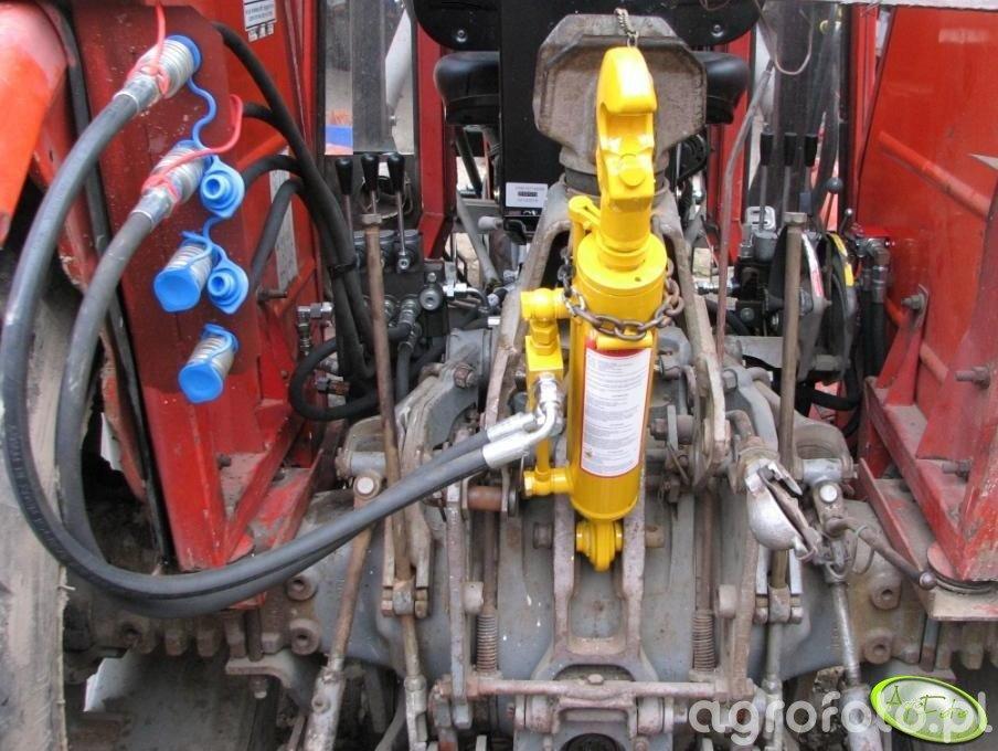 Hydraulika  w MF 255