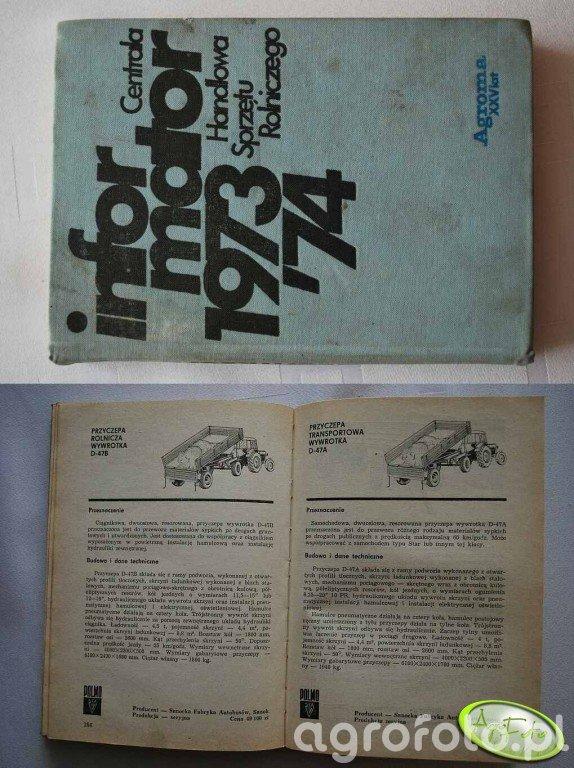 Informator Sprzętu Rolniczego-Agroma 1973/74