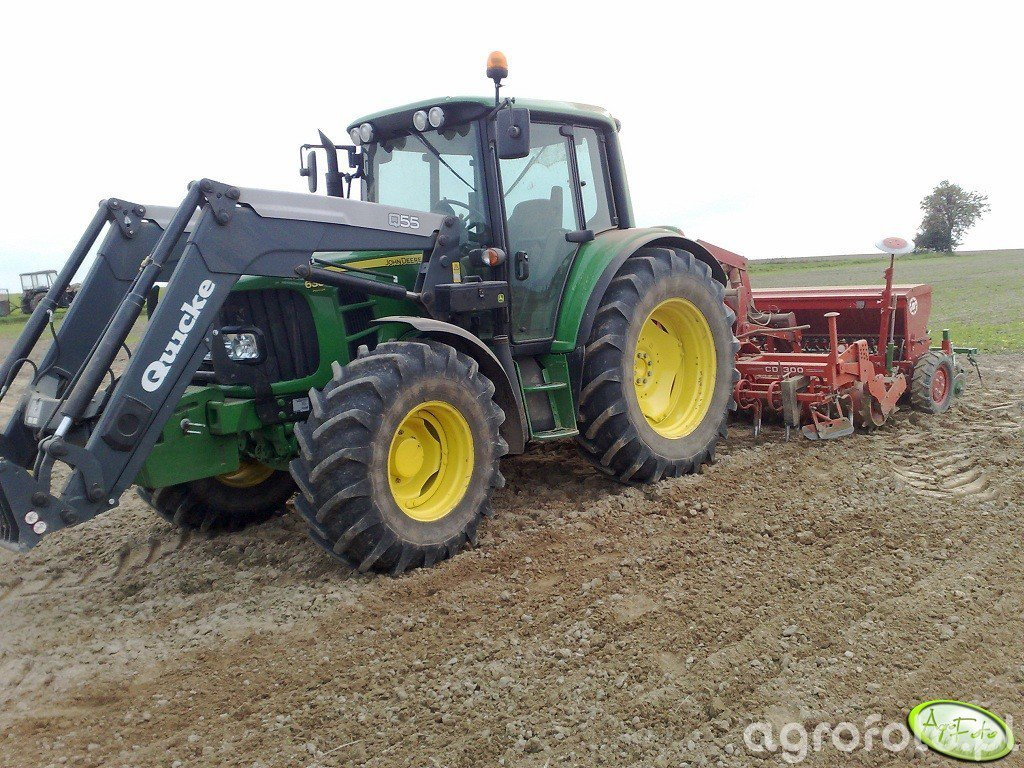 JD 6330 P + Kuhn CD300 + Poznaniak
