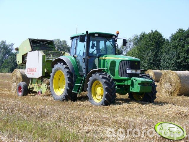 JD 6620 + Claas Rollant 46