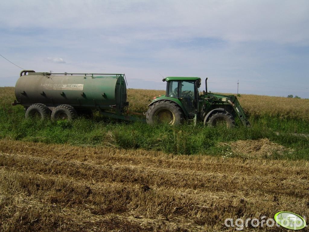 JD 6620SE + beczka 20000 litrow