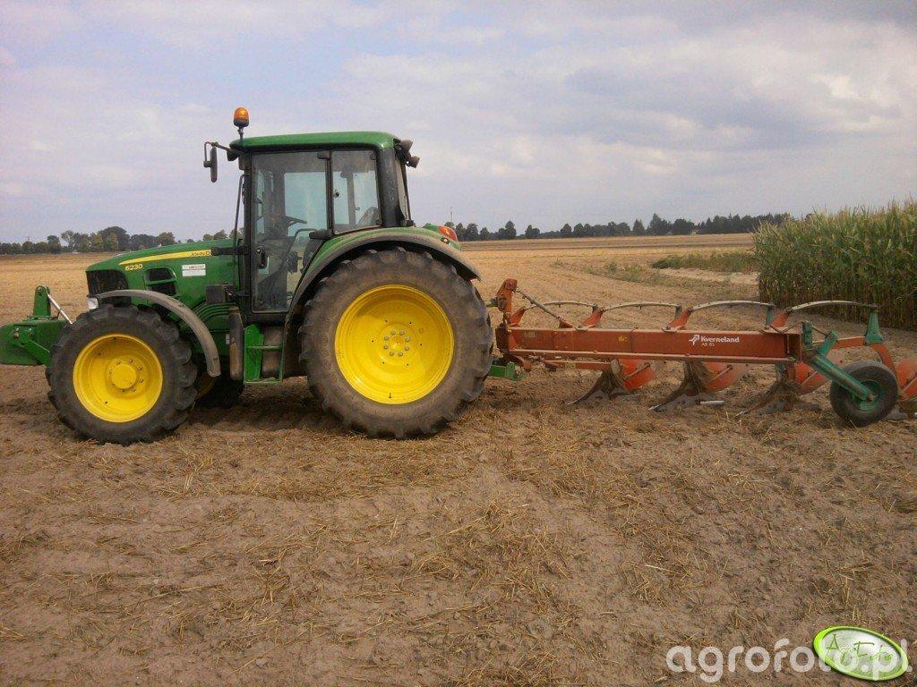John Deere 6230 + Kverneland AB 85