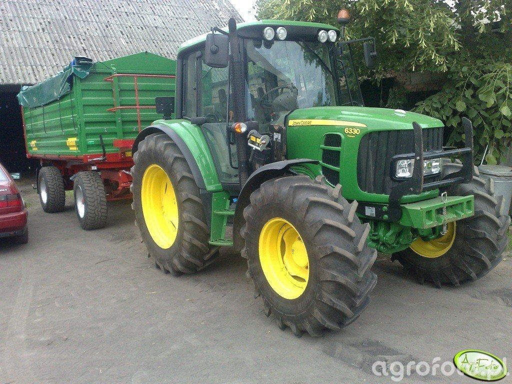 John Deere 6330 Premium + Metaltech DB 12000