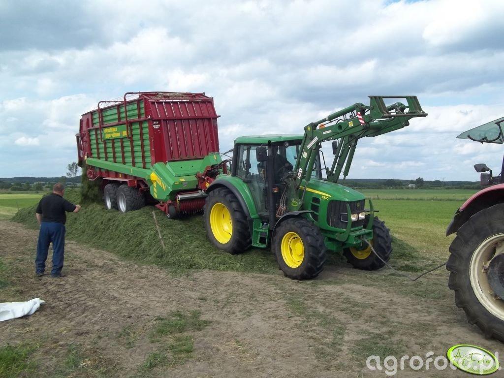John Deere 6330 & Strautmann Super Vitesse CFS 3101 DO